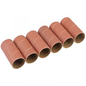 Draper - Pack of Six 51mm Aluminium Oxide Sanding Sleeves for 10773