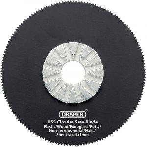 Draper - HSS Circular Saw Blade 63mm Dia. x 18tpi