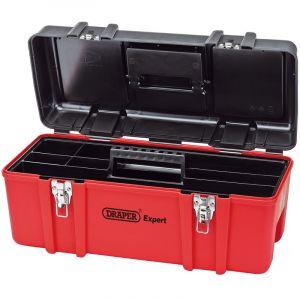 Draper - Plastic Tool Box with Tote Tray (580mm)