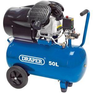 Draper - 50L Air Compressor (2.2kW)
