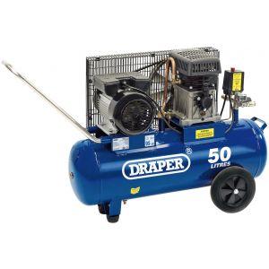 Draper - 50L Belt-Driven Air Compressor (2.2kW)