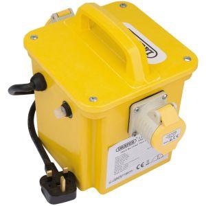 Draper - 1.5kVA 230V to 110V Portable Site Transformer