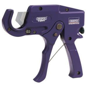 Draper - 35mm Capacity Plastic Pipe or Moulding Cutter