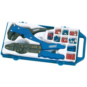 Draper - 6 Way Crimping and Wire Stripping Kit