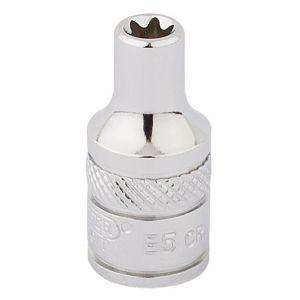 """Draper - 1/4"""" Sq. Dr. Draper TX-STAR® Socket (E5)"""