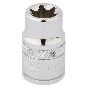 """Draper - 3/8"""" Sq. Dr. Draper TX-STAR® Socket (E12)"""
