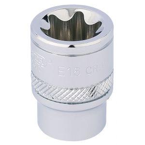 """Draper - 3/8"""" Sq. Dr. Draper TX-STAR® Socket (E16)"""