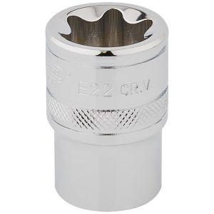 """Draper - 1/2"""" Sq. Dr. Draper TX-STAR® Socket (E22)"""