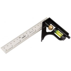 Draper - 150mm Metric and Imperial Combination Square
