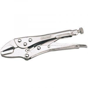 Draper - 190mm Straight Jaw Self Grip Pliers
