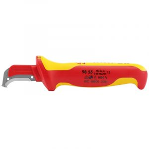 Draper - Knipex 98 55 155mm Fully Insulated Cable Dismantling Knife