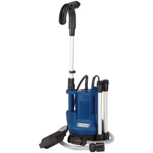 Draper - 40L/Min Submersible Water Butt Pump with Float Switch (350W)