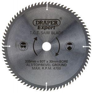 Draper - TCT Saw Blade 305 x 30mm x 80T