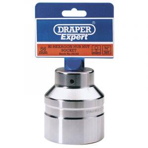 """Draper - 56mm 3/4"""" Sq. Dr. Hub Nut Socket"""