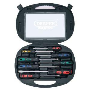 Draper - Screwdriver Set in Case (8 Piece)