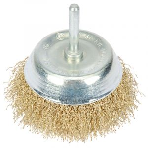 Draper - 75mm Hollow Cup Wire Brush