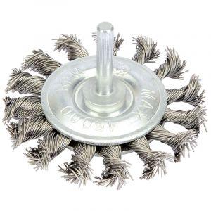 Draper - Twisted Wire Wheel (75mm)