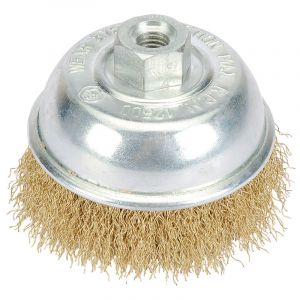 Draper - 75mm Wire Cup Brush with M10 Thread