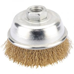 Draper - 75mm Heavy Duty Wire Cup Brush with M14 Thread