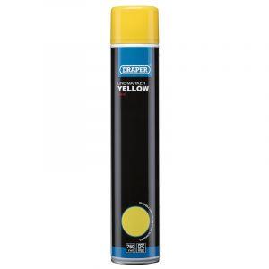 Draper - 750ml Yellow Line Marker Spray Paint