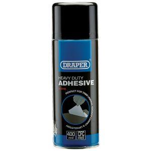Draper - 400ml Heavy Duty Spray Adhesive