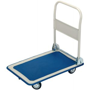Draper - 150kg Platform Trolley with Folding Handle - 630 x 480 x 850mm