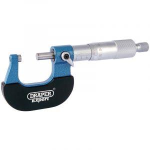 Draper - Metric External Micrometer - 0-25mm