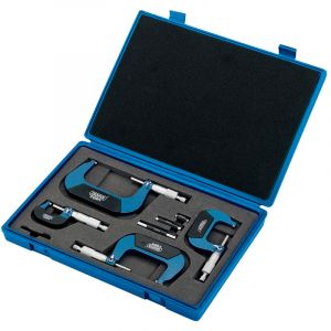 Draper - Metric External Micrometer Set (4 Piece)