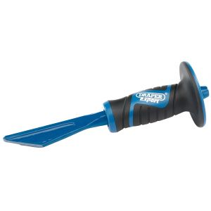 Draper - 250mm Plugging Chisel with Soft Grip Hand Guard