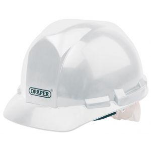 Draper - White Safety Helmet to EN397