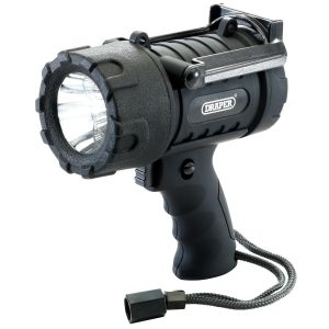 Draper - 5W CREE LED Waterproof Torch (3 x AA Batteries Required)