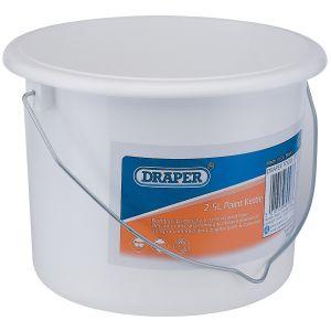Draper - 2.5L Plastic Paint Kettle