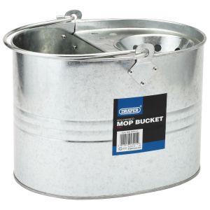 Draper - Galvanised Mop Bucket (9L)