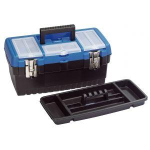 Draper - 413mm Tool Organiser Box with Tote Tray