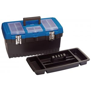 Draper - 486mm Tool Organiser Box with Tote Tray