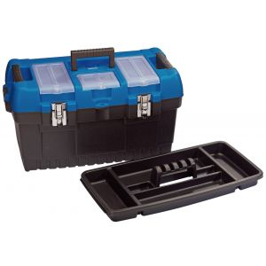 Draper - 564mm Large Tool Box with Tote Tray