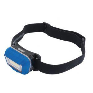 Draper - 3W Rechargeable COB LED Head Torch