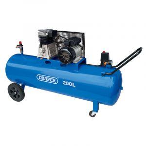 Draper - 200L Belt-Driven Air Compressor (2.2kW)