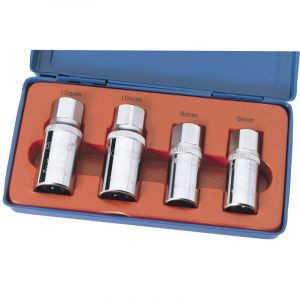 """Draper - 1/2"""" Sq. Dr. 4 Piece Stud Extractor Set"""