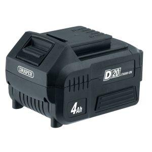 Draper - D20 20V Lithium Battery (4.0Ah)