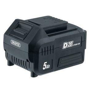 Draper - D20 20V Lithium Battery (5.0Ah)