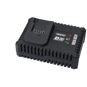 Draper - D20 20V Fast Battery Charger