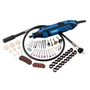Draper - 180W Rotary Multi Tool Kit (111 Piece)