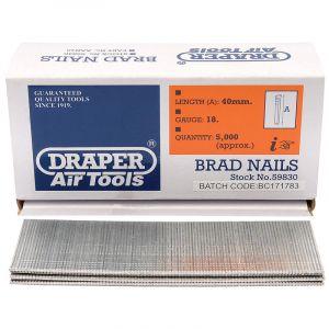 Draper - 40mm Brad Nails (5000)