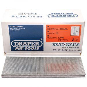 Draper - 45mm Brad Nails (5000)