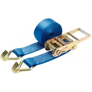 Draper - 5000kg Ratchet Tie Down Strap (8M x 75mm)