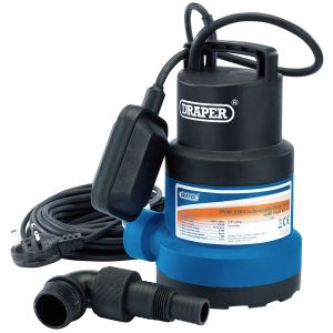Draper - 191L/Min Submersible Water Pump with Float Switch (550W)