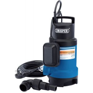 Draper - 166L/Min Submersible Dirty Water Pump with Float Switch (550W)