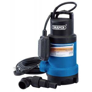 Draper - 200L/Min Submersible Dirty Water Pump with Float Switch (750W)