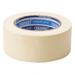 Draper - Masking Tape Roll (50M x 50mm)